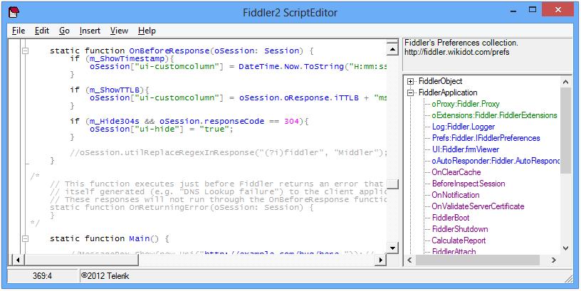 Fiddler Web Debugger - Useful Extensions